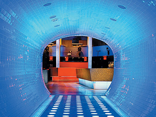 Nightclub Design Crobar New York City Tunnel